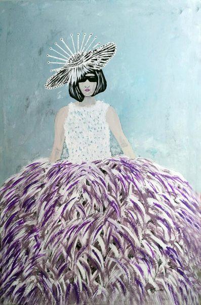 CATWALK-Iady-with-feathers-Patrick-Joosten