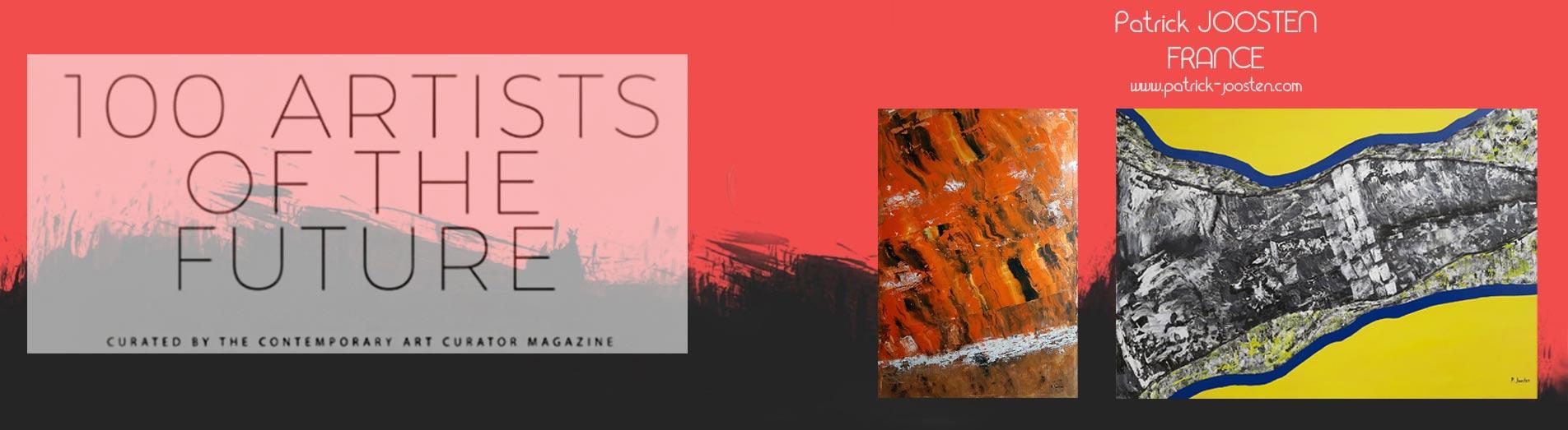 100 Artists f the Future, Patrick Joosten