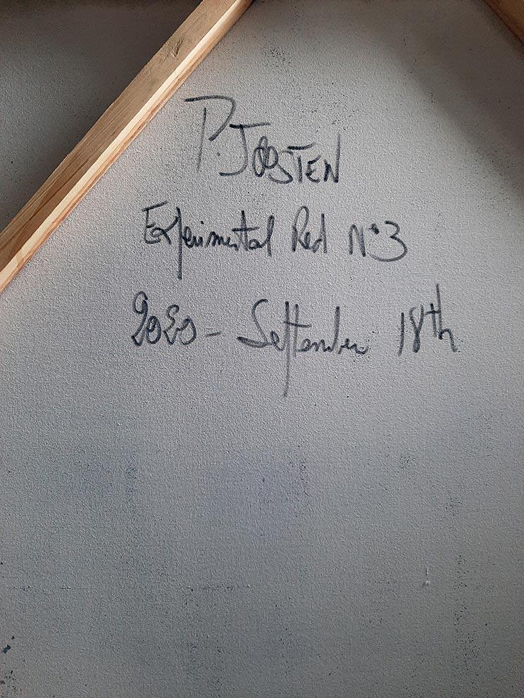 Experimental-Red-N°3-Patrick-Joosten-2020-September-17th-back-signature