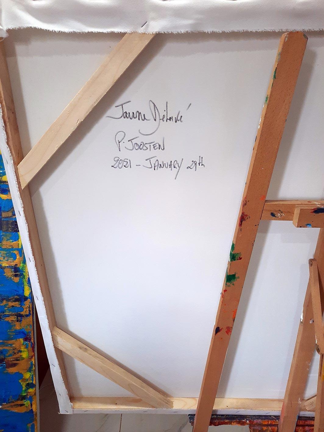 Jaune-Delave-Patrick-Joosten-2021-January-29th-Back-signature