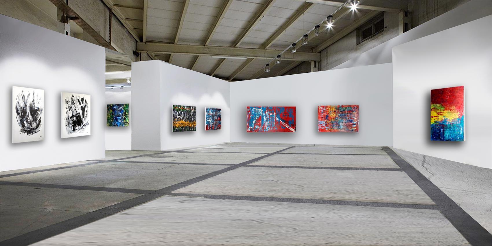 Patrick-Joosten-In-situ-Orange-black-and-white-Blaugrana2-red-sea-ultra-blue